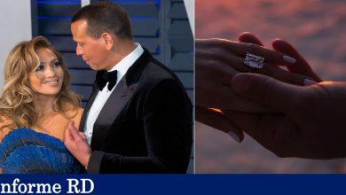 Alex Rodríguez le entrega impresionante anillo a Jennifer López y le da el sí, hay boda