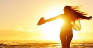 con solo un poco de luz solar nos ayuda mucho a la salud